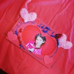 Valentines Photo Booth Heart Frame