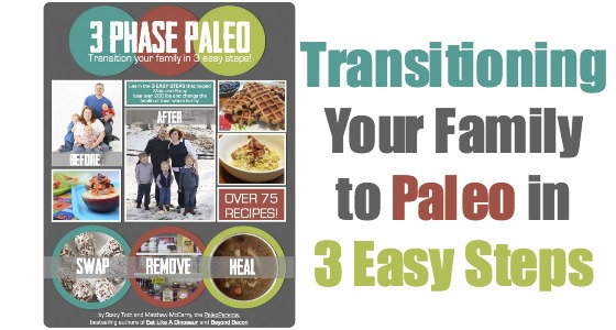 3 Phase Paleo : Transition Your Family in 3 Easy Steps