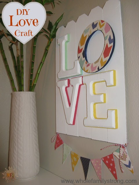 LOVE craft pinnable image