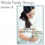 Dear Wife… Letters From a Help Meet {Review}